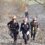 H Ε.Ο.Ε.Δ Μεσολογγίου στην κατάσβεση πυρκαγιάς της Βαράσοβας