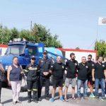 H ΟΑΚ 4Χ4 ΜΕΣΣΗΝΙΑΣ παρουσίασε το νέο της πυροσβεστικό εξοπλισμό