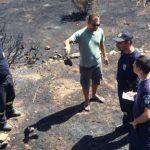 Το πυροσβεστικό ελικόπτερο έσωσε την Τήλο από μεγάλη φωτιά