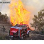 Μας έκαψαν οι κεραυνοί... 5 πυρκαγιές από κεραυνούς στη Λέσβο