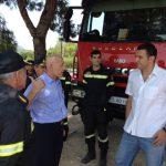 Εφόδους στους κεντρικούς πυροσβεστικούς σταθμούς της Αττικής του Υπουργού κ. Κικίλια