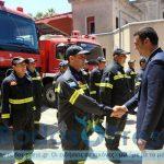 Επίσκεψη στην Πυροσβεστική Υπηρεσία Ρόδου του Υπουργού Δημόσιας Τάξης και Προστασίας του Πολίτη