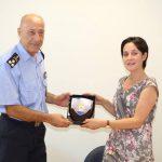 Επίσκεψη της πρέσβειρας του Ισραήλ στις εγκαταστάσεις της 1ης Ε.Μ.Α.Κ