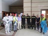 Άσκηση πυρασφάλειας στο ξενοδοχείο Atlantica