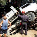 Ατύχημα στην περιοχή ΝΑΤΟ Σαλαμίνας