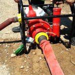 Δημιουργία πυροσβεστικών εγκαταστάσεων με χρήση φορητών αντλιών