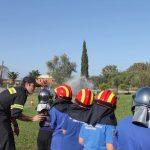 Εκπαίδευση σε θέματα πυροπροστασίας στο Π.Κ. Θιναλίων