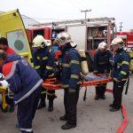 Άσκηση ετοιμότητας 1ου Πυροσβεστικού Σταθμού Λάρισας