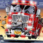 T-shirt Night με το Fire Rescue News