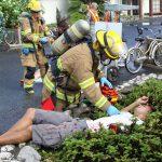 Συνεργασία Πυροσβεστικής & ΕΚΑΒ