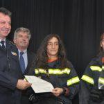 Τιμήθηκαν οι εθελοντές και οι Πυροσβέστες