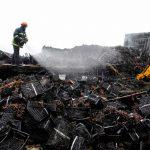 Στις καλύτερες φωτογραφίες της χρονιάς.. ένας πυροσβέστης