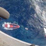 Διάσωση ναυαγού από το Πολεμικό Ναυτικό