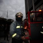 Fire breaks out at Greece's tallest building