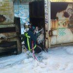 Πυρκαγιά σε εμπορευματοκιβώτια – πρέσες απορριμμάτων, Θεσσαλονίκη