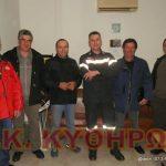 Ευχαριστήρια συνάντηση με τους χειριστές γεωργικών ελκυστήρων στο Π.Κ. Κυθήρων