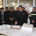 Κοπή πρωτοχρονιάτικης πίτας του 8ου Πυροσβεστικού Σταθμού Αθηνών.