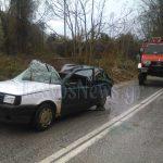 Τραγωδία !!! Νεκρή 40χρονη επιβάτης στο ΙΧ που καταπλάκωσε το δέντρο