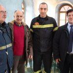 40 εθελοντές πυροσβέστες στη συνοικία της Παναγίας