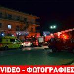 Μεσολόγγι: Πυρκαγιά στο εργαστήρι Παναγία Ελεούσα