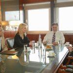 Πολιτική προστασία και οδική ασφάλεια στη συνάντηση Δούρου - Πανούση