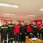 Συνάντηση μελών του ΔΣ της Ε.Ο.Δ με στελέχη της Πυροσβεστικής Υπηρεσίας στην Πιερία