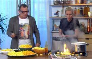 Σουηδία: Φωτιά στην κουζίνα κατά τη διάρκεια τηλεοπτικής εκπομπής