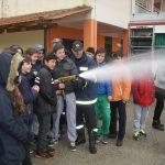Μικροί πυροσβέστες εν δράσει στο Γυμνάσιο Μοναστηρακίου