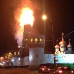 Μόσχα: Φωτιά στο μοναστήρι του Νοβοντέβιτσι