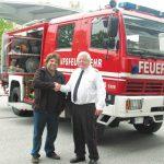 Σαπίζει πυροσβεστικό όχημα που δώρισε η Αυστρία