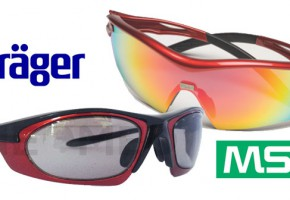 MSA - Dräger: Αμερικάνος ή Γερμανός προστάτης για τα μάτια σας;