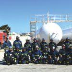 Ασκηση της Πυροσβεστικής στις εγκαταστάσεις της «Rodogaz»