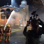 Πυρκαγιά κατέστρεψε την Εκκλησία της Κοίμησης της Θεοτόκου στο Μοντρεάλ