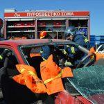 Διήμερη θεωρητική και πρακτική εκπαίδευση στα «τροχαία ατυχήματα» από τη ΔΙ.Π.Υ.Ν. Λάρισας