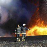 Πυρκαγιές σε δεξαμενές υγρών καυσίμων