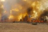 Wildfire in Woodward County