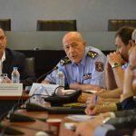 Σύσκεψη υπό την προεδρία του Αν. Yπουργού Προστασίας Πολίτη κ. Γιάννη Πανούση για την τρέχουσα αντιπυρική περίοδο