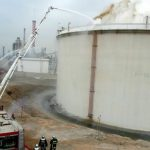 Major fire breaks out at a refinery reservoir in Aspropyrgos