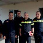 Ο περιφερειακός διοικητής Πελοποννήσου στο Κλιμάκιο του Μελιγαλά