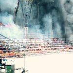 Φωτιά στο θέατρο ρεματιάς Χαλανδρίου