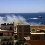 Πυρκαγιά σε ξερά χόρτα ανησύχησε τους κατοίκους του Πειραιά