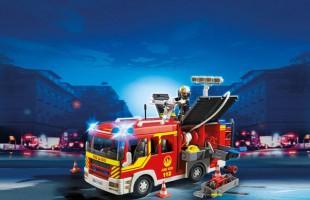 Πως κατασκευάζεται ένα πυροσβεστικό όχημα της Playmobil