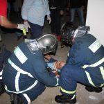 Οι πυροσβέστες του έσωσαν τη ζωή