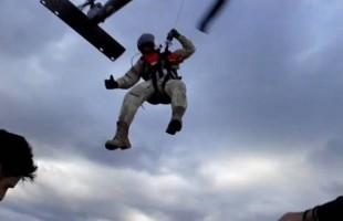 Βίντεο από τη διάσωση του αεροπτεριστή στη Φωκίδα