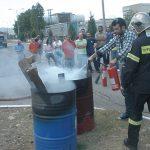 Πάτρα: Εκπαίδευση τεχνικών ασφαλείας και ομάδων πυροπροστασίας της ΒΙΠΕ από την πυροσβεστική