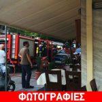 Αλεξανδρούπολη: Μάγειρας εστιατορίου κινδύνεψε να τυλιχθεί στις φλόγες
