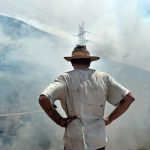 Two beekeepers arrested in Hymettus fire
