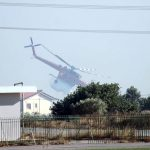 Firefighting helicopter almost crash, heroic pilot saves the day