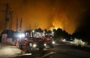 Στο έλεος καταστροφικών πυρκαγιών η Ισπανία