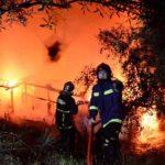 Υπο έλεγχο η «παράξενη» φωτιά στην Πάρνηθα
